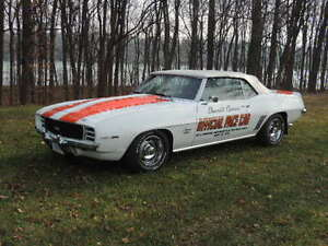 1969 CAMARO INDY PACE CAR WITH A.C.