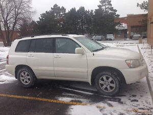 2007 Toyota Highlander leather SUV, Crossover