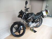 YAMAHA YBR 125cc YBR 125 74 BHP (black) 2014