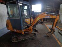 HANIX H15-B-2 1.5 ton digger excavator