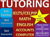IELTS,CELPIP,ENGLISH,SC.,MATH,COMPUTER,ACCOUNTING...YOUR SUCCESS