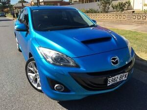 2010 Mazda 3 BL1031 MPS Luxury Celestial Blue 6 Speed Manual Hatchback West Hindmarsh Charles Sturt Area Preview