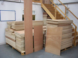 FRESH PLYWOOD OFFCUTS & FULL SHEETS STARTING FROM 20p