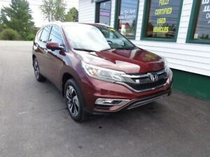 2016 Honda CR-V Touring for only $240 bi-weekly all in!