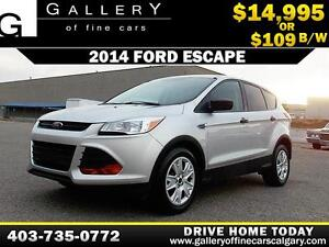 2014 Ford Escape $109 bi-weekly APPLY NOW DRIVE NOW