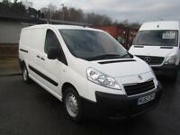 Peugeot Expert 1200 L2 H1 1.6 Hdi 90PS Van DIESEL MANUAL WHITE (2013)