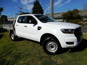 2017 Ford Ranger PX MkII XL White 6 Speed Sports Automatic Cab Chassis Moorabbin Kingston Area Preview