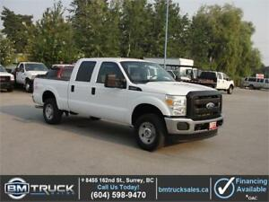 2011 FORD F-250 SUPER DUTY XL CREW CAB SHORT BOX 4X4