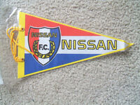 Nissan FC (Japan Soccer League) pennant