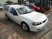 2006 Ford Falcon BF XL (LPG) White 4 Speed Auto Seq Sportshift Utility Homebush West Strathfield Area Preview