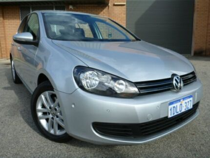 2010 Volkswagen Golf 103TDi Comfortline Silver Automatic Hatchback Alfred Cove Melville Area Preview