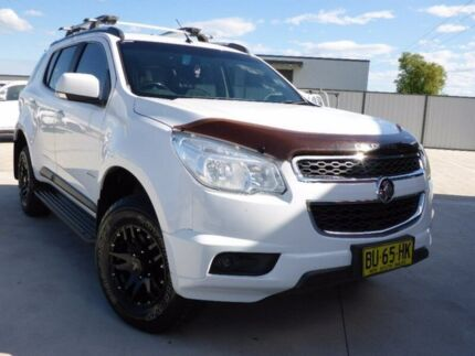 2012 Holden Colorado 7 RG MY13 LT White 6 Speed Sports Automatic Wagon