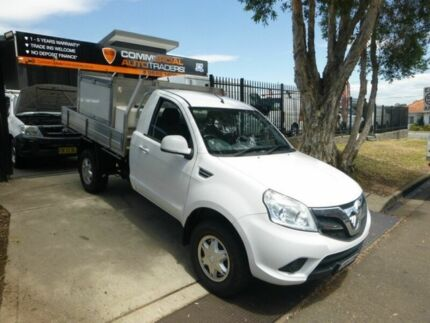 2014 Foton Tunland P201 4x2 White 5 Speed Manual Utility Granville Parramatta Area Preview