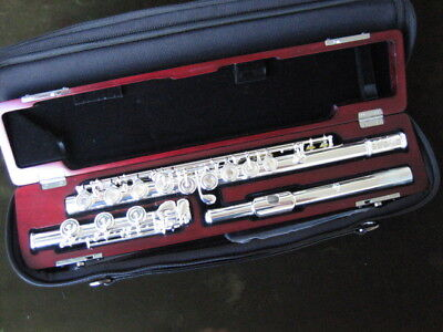 NEW Di Zhao DZ 700 BOF FLUTE SOLID SILVER HEAD, BODY & B-FOOT, READY TO SHIP!
