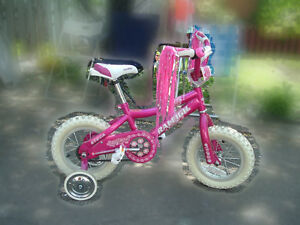 "velo enfant 12"" Raleigh pour fillette children girl bike"