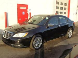 2012 Chrysler 200 Limited ~ 138111Kms ~ Remote Start ~ 9999.00