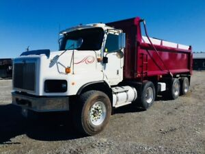 2005 International 5600 Tri Axle Dump Truck