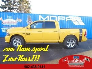 2016 Ram 1500 SPORT STINGER YELLOW SPECIAL EDITION