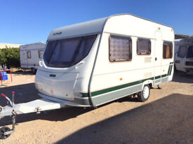 Lunar Chateau 450 - 4 berth with awning, situated Costa Blanca Spain