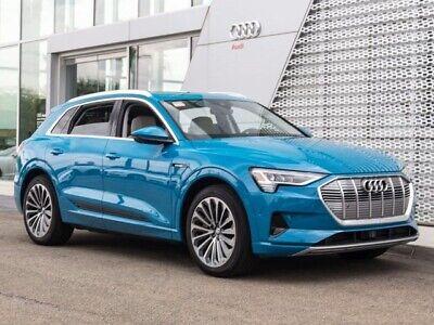 2019 Audi e-tron Prestige 2019 Audi e-tron Prestige Single-Speed Automatic 1509 Miles Antigua Blue Metalli