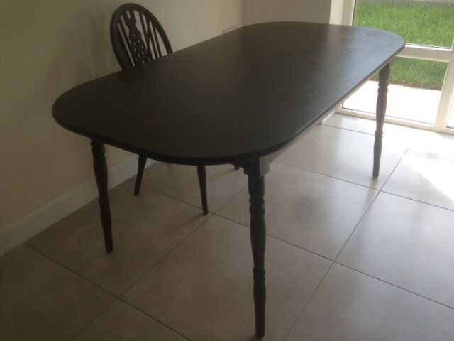 dining table and 6 chairs for sale in lisburn county