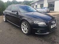 2011 Audi A4 2.0TDI ( 136ps ) Saloon 4Dr S Line