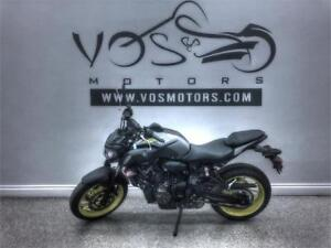 2018 Yamaha MT-07AJG - V3111NP - No Payments For 1 Year**