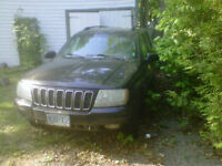 03 Grand Cherokee Part Out