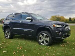 JEEP GRAND CHEROKEE *OVERLAND* BLUE NAVY* financement disponible