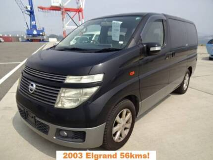 2003 Nissan Elgrand 8 seater, SUPER LOW KMS, guaranteed genuine!