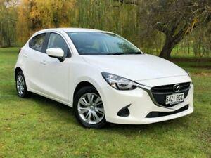 2015 Mazda 2 DJ2HAA Neo SKYACTIV-Drive White 6 Speed Sports Automatic Hatchback Bridgewater Adelaide Hills Preview