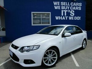 2014 Ford Falcon FG MkII XR6 White 6 Speed Sports Automatic Sedan Welshpool Canning Area Preview