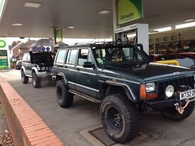Jeep cherokee 4.0 auto hi output 4x4 off roader ready