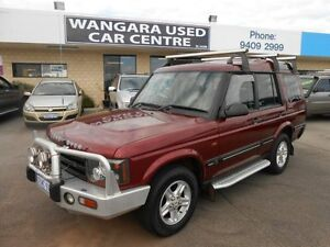 2003 Land Rover Discovery Series II S (4x4) Burgundy 4 Speed Automatic Wagon Wangara Wanneroo Area Preview