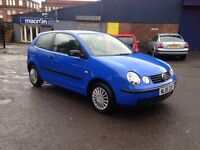 2005 VW POLO 1.2 - ONLY 66'000 MILES, DRIVES AMAZINGLY WELL
