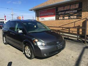 2008 Nissan Quest SE**LEATHER**NAVI**BACK UP CAMERA**2 DVD**
