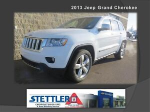 2013 Jeep Grand Cherokee Overland 5.7L Leather