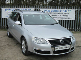VOLKSWAGEN PASSAT 2.0 TDI SE ESTATE 2007 (07) MANUAL SILVER ONLY 87K S/HISTORY!!