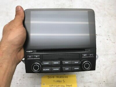 17-19 PORSCHE 991 S 991.2 OEM NAVIGATION STEREO RECEIVER SCREEN PCM4 9P1035880D
