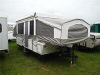2009 Palomino Y4127 12' Tent Trailer with Slideout & 2' Storage