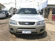 2005 Ford Territory SY TX (RWD) Silver 4 Speed Auto Seq Sportshift Wagon Newtown Geelong City Preview