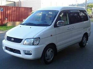 2001 Toyota Spacia NOAH LIFT CHAIR White 4 Speed Automatic Wagon