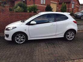 Mazda 2 Sport (10) White Low Mileage For Sale
