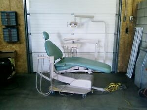 Adec 1040 Cascade Dental Chair Light Hygiene Used Refurbished