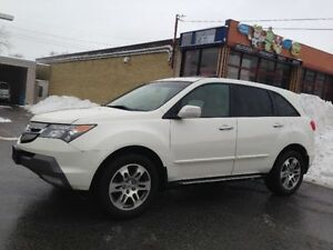 2007 ACURA MDX TECH PACKAGE 7 PASS NAVIGATION BACK UP CAMERA