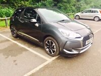 2016 Citroen DS3 1.2 Pure Tech Elegance 66 Reg 1560 Miles Only