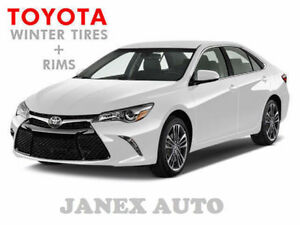 TOYOTA Winter TIRES + RIMS ( Corolla Matrix Camry RAV4 Venza)