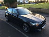 Low mileage BMW 1 Series sport - Black