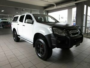 2012 Isuzu D-MAX TF MY12 SX HI-Ride (4x4) White 5 Speed Automatic Crewcab Thornleigh Hornsby Area Preview