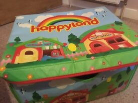 'Happyland' Early Learning Centre, Store & Play Storage Box